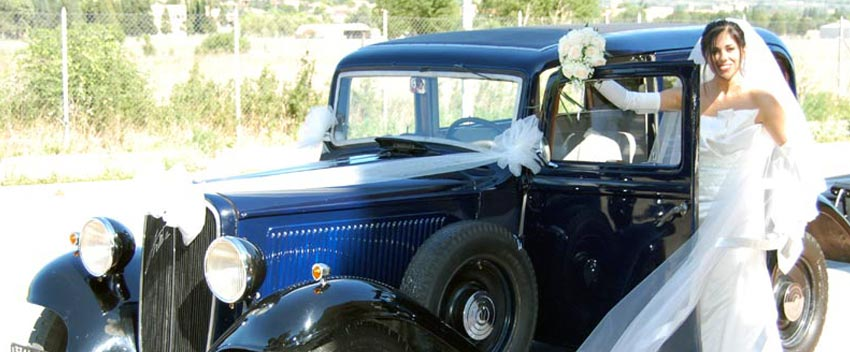 auto di lusso a noleggio wedding